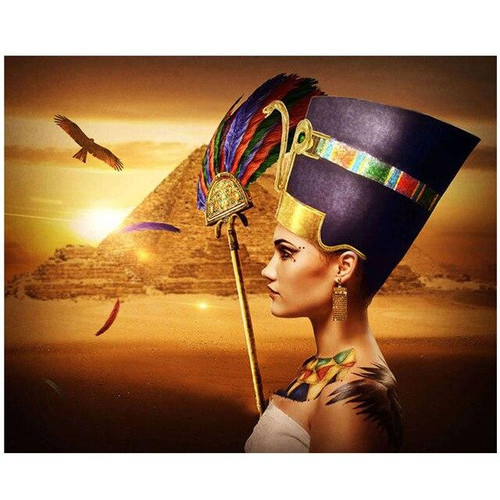 5D Diamond Painting Egyptian Queen Pyramids Kit