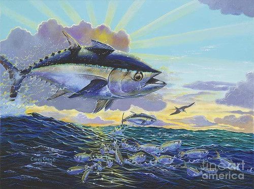 5D Diamond Painting Big Ocean Fish Kit