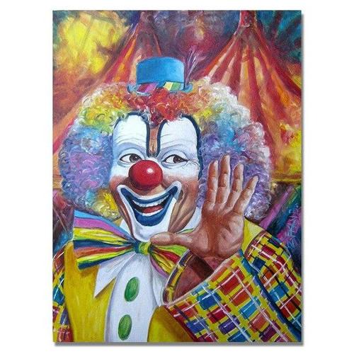 5D Diamond Painting Red Nose Clown Kit