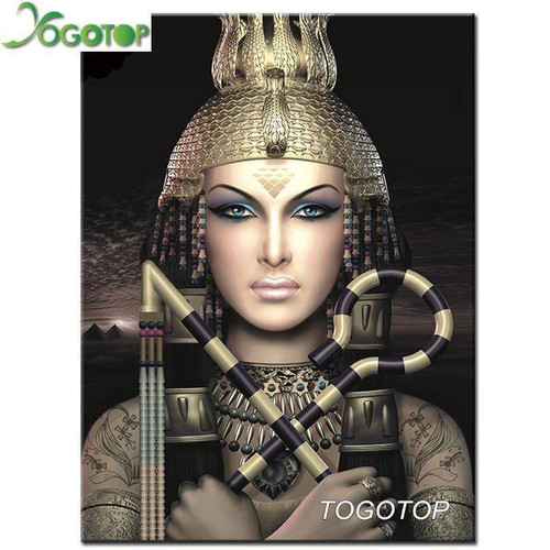 5D Diamond Painting Egyptian Warrior Kit