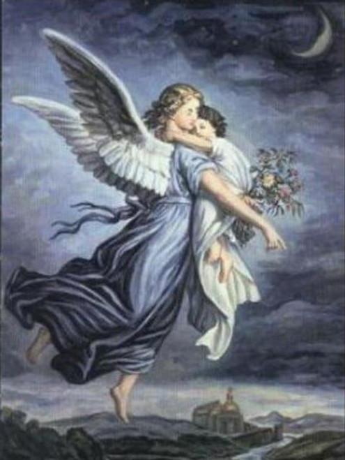 5D Diamond Painting Angel's Embrace Kit