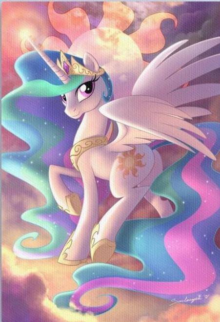 5D Diamond Painting My Little Pony Princess Celestia Kit