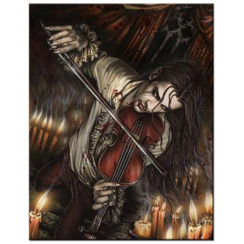 5D Diamond Painting Vampire Violinist Kit