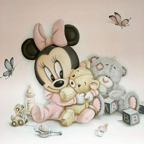 5D Diamond Painting Baby Minnie Mouse Kit
