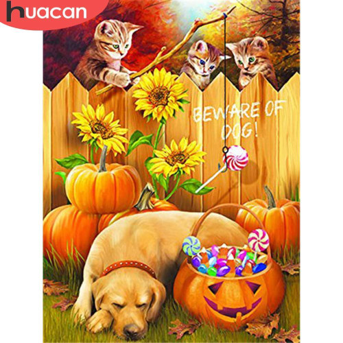 5D Diamond Painting Stealing Candy Kit