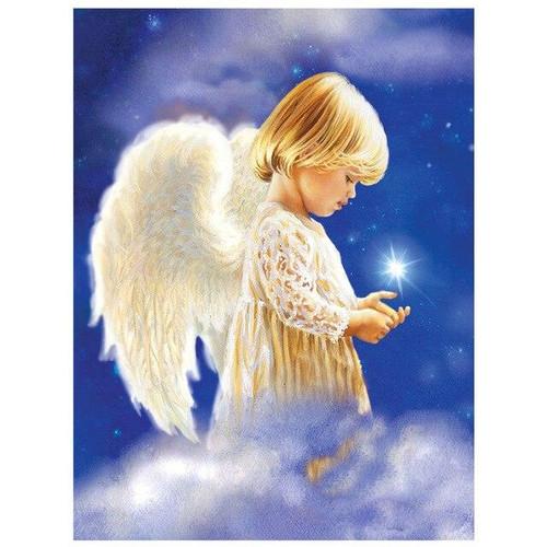 5D Diamond Painting Angel Star Kit