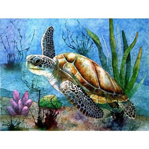 5D Diamond Painting Underwater Sea Turtle Kit