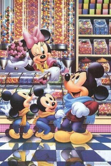 5D Diamond Painting Minnie's Candy Shop Kit