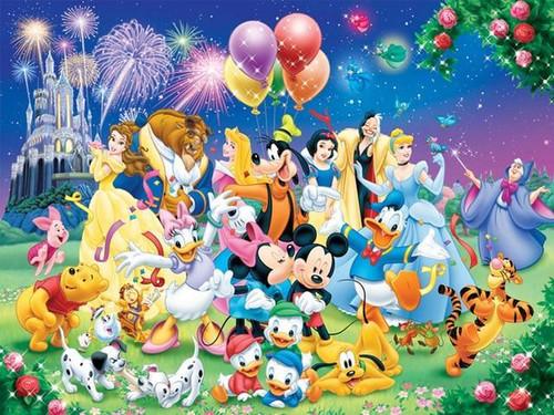 5D Diamond Painting Mickey Castle Celebration Kit