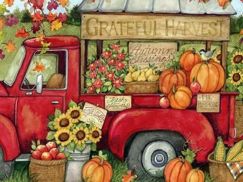 5D Diamond Painting Grateful Harvest Kit