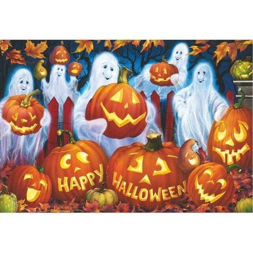 5D Diamond Painting Happy Halloween Ghosts Kit