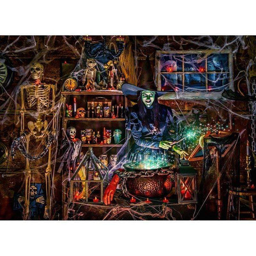 5D Diamond Painting Witch's Chambers Kit