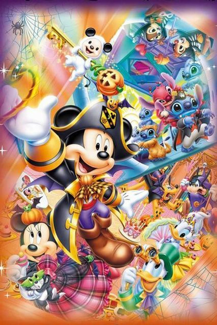 5D Diamond Painting Pirate Costume Mickey Kit