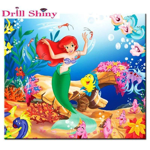 5D Diamond Painting Ariel Dancing Kit