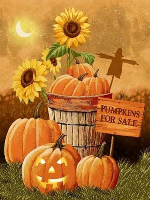 5D Diamond Painting Pumpkins for Sale Kit