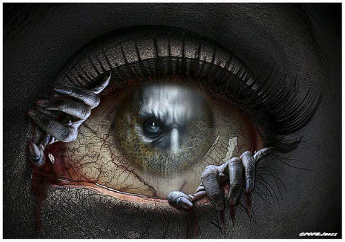 5D Diamond Painting Sinister Eye Kit