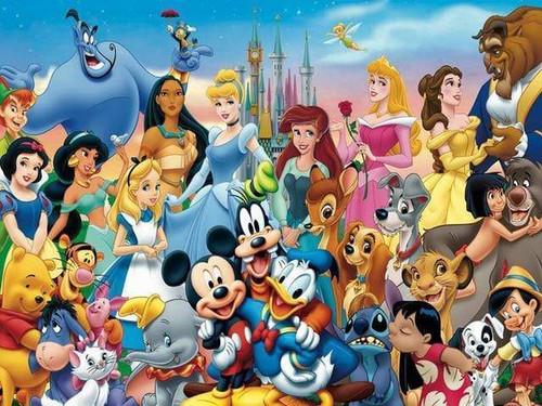 5D Diamond Painting Mickey, Goofy, Donald and Friends Kit