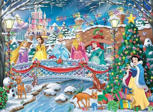 5D Diamond Painting Six Princess Christmas Kit