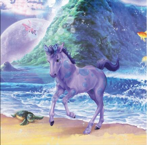 5D Diamond Painting Little Purple Unicorn Kit