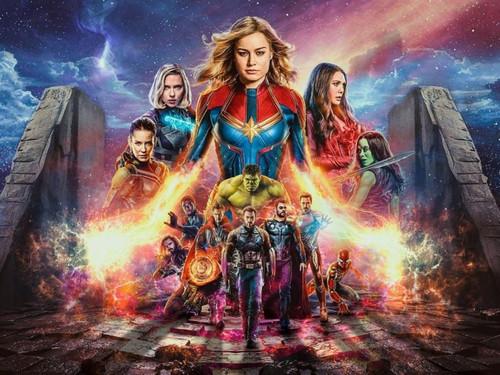 5D Diamond Painting Captain Marvel Avengers Kit