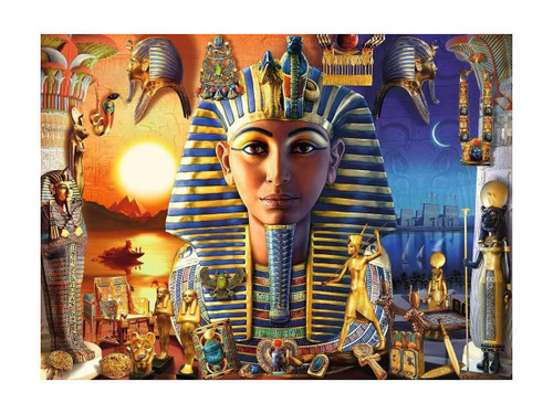 5D Diamond Painting Egyptian Life Collage Kit