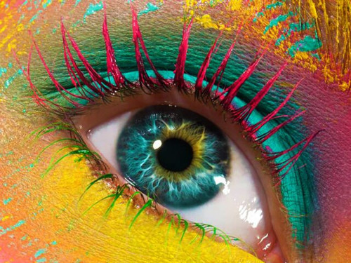 5D Diamond Painting Red Lash Eye Kit