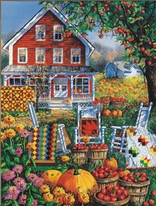 5D Diamond Painting Quilts on the Farm Kit