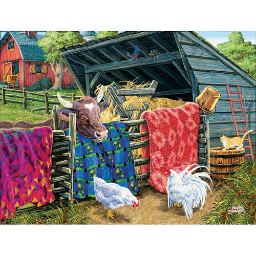 5D Diamond Painting Quilts by the Cow Kit