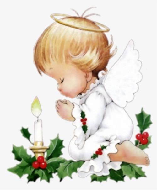 5D Diamond Painting Praying Christmas Angel Kit