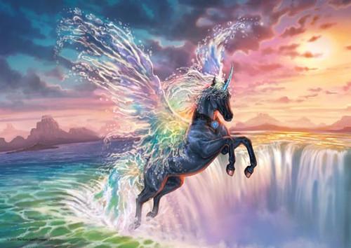 5D Diamond Painting Water Wing Pegasus Kit