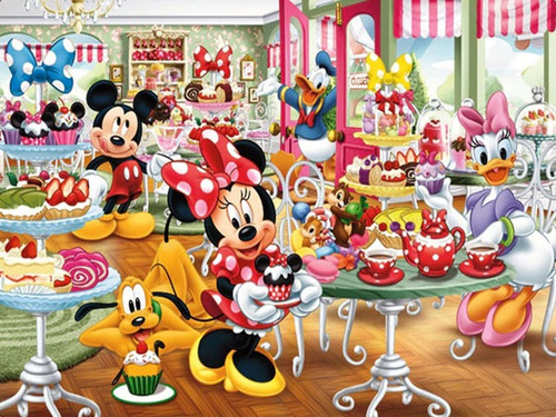 5D Diamond Painting Minnie's Bakery Kit