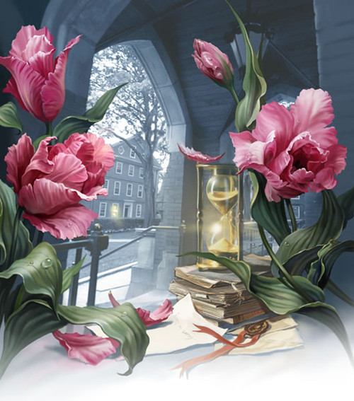 5D Diamond Painting Flowers by the Hourglass Kit