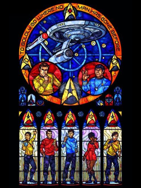 5D Diamond Painting Abstract Star Trek Kit