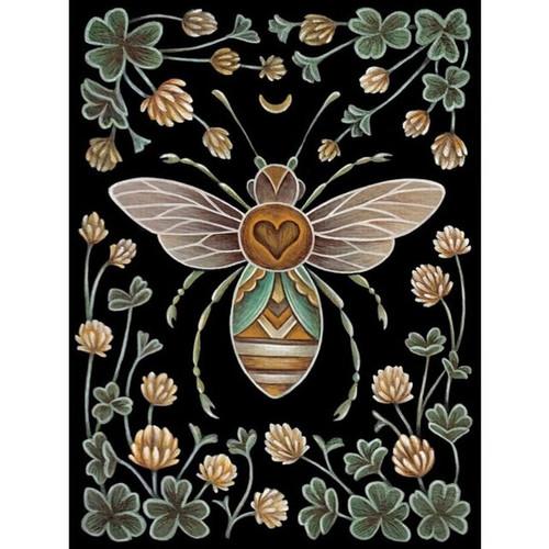 5D Diamond Painting Abstract Bee Design Kit