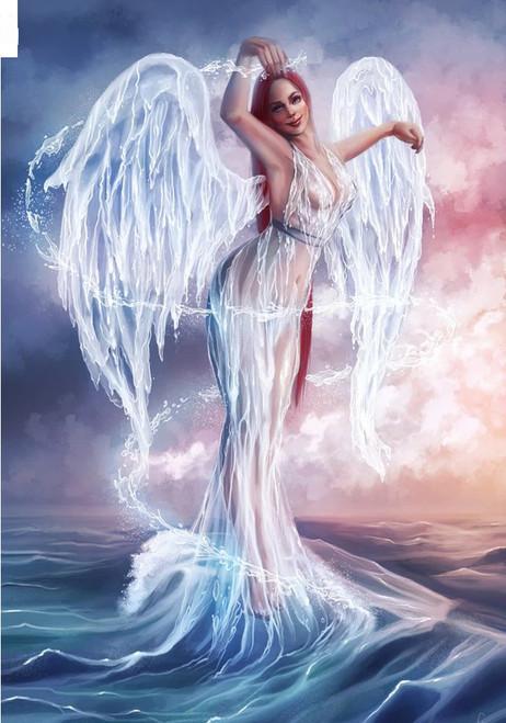 5D Diamond Painting Water Wing Angel Kit