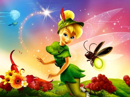 5D Diamond Painting Tinkerbell and A Bee Kit