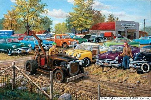 5D Diamond Painting Cars for Sale Kit