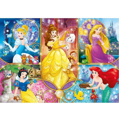 5D Diamond Painting Five Princess Collage Kit