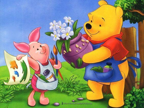 5D Diamond Painting Piglet and Pooh Painting Kit