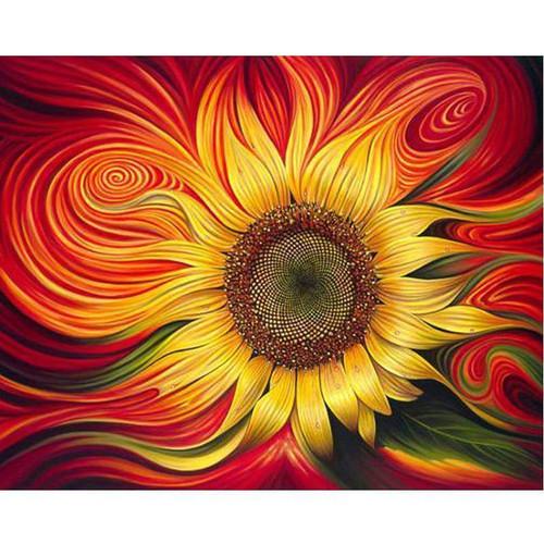 5D Diamond Painting Sunflower Kit