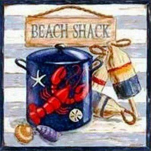 5D Diamond Painting Beach Shack Kit