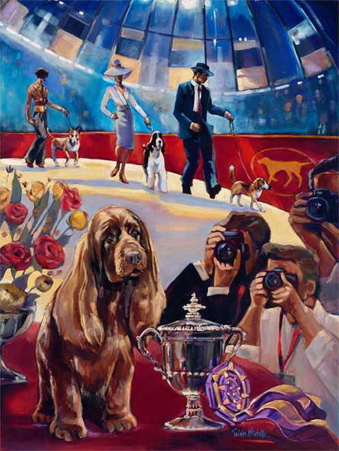 5D Diamond Painting Dog Show Kit