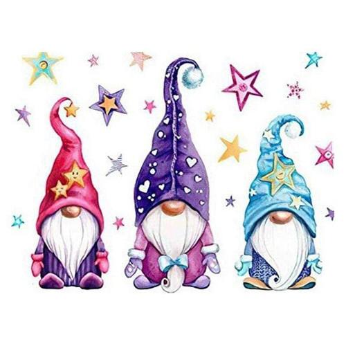 5D Diamond Painting Three Gnomes Kit