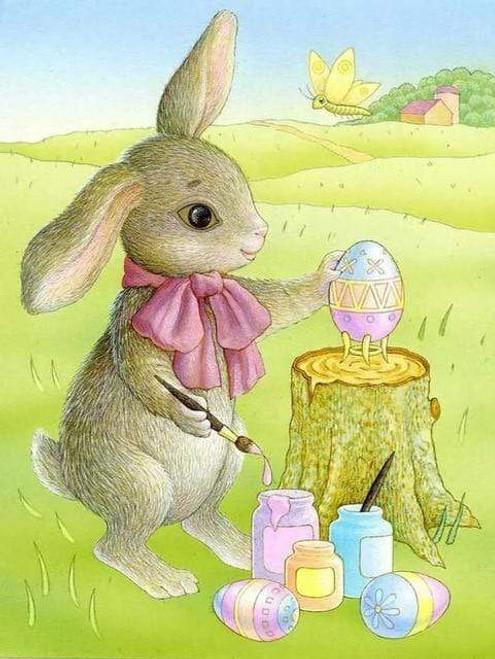 5D Diamond Painting Bunny Painting Egg Kit