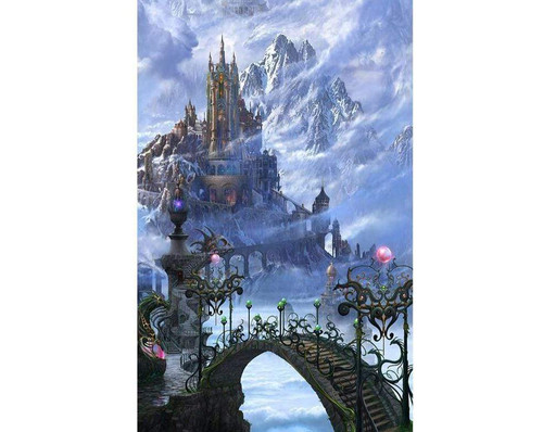 5D Diamond Painting Kingdom in the Clouds Kit