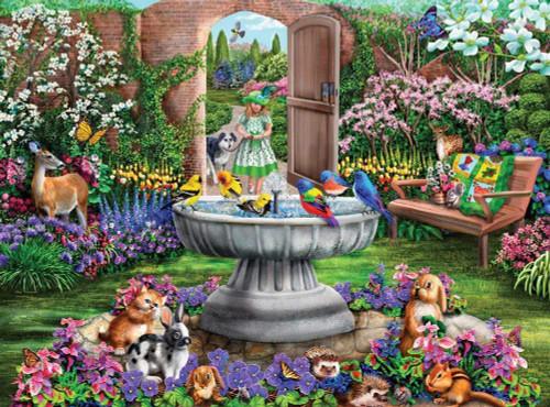 5D Diamond Painting Animal Garden Kit