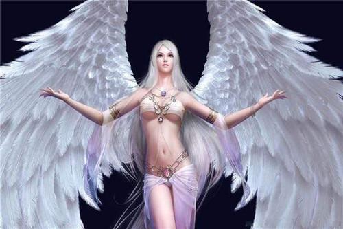 5D Diamond Painting White Wing Angel Kit