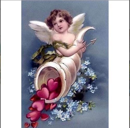 5D Diamond Painting Cupid Cornucopia Kit