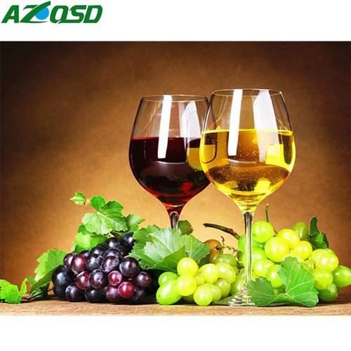 5D Diamond Painting Two Wine Glasses Kit