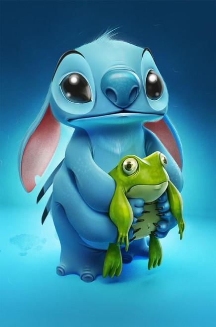 5D Diamond Painting Stitch and Pet Frog Kit